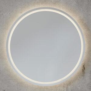 Et rundt Back-Light med sandblæst ramme indeni