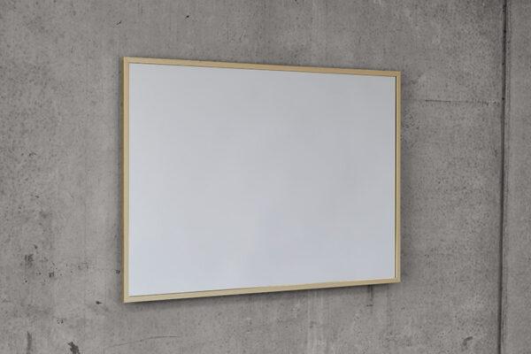 Eksklusiv messing ramme spejl fra J.N. Bech