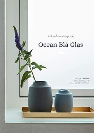 Ocean Blå Glas