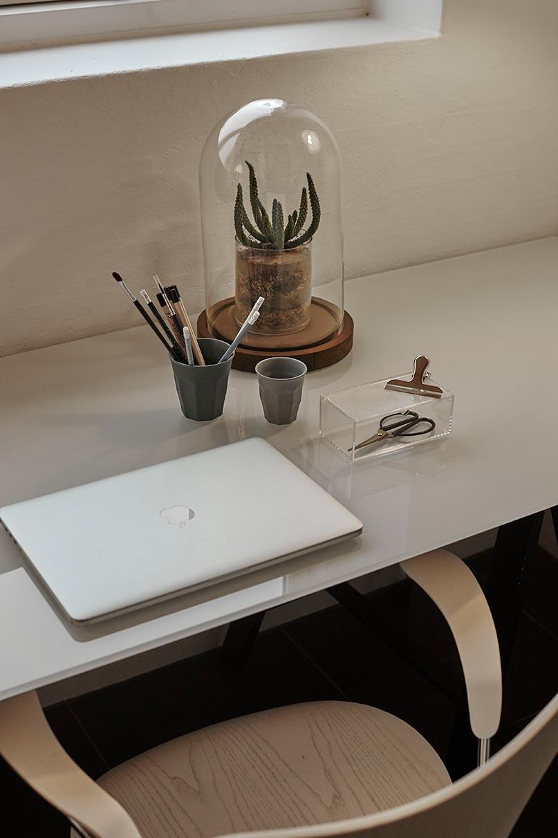 Glas Bord til Hjemmekontor